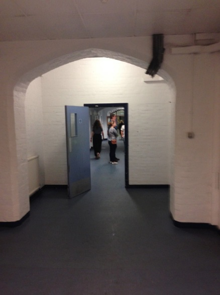 Main prisoner entrance, Reading Gaol.