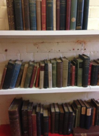 OScar Wilde's books.